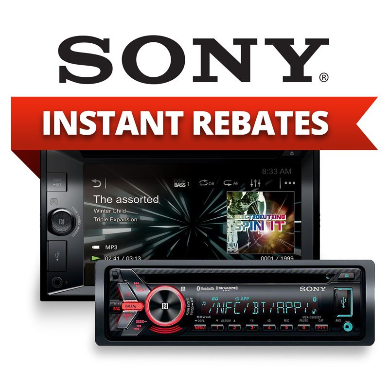 Sony 12Volt Rebates