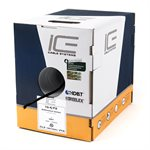 ICE 16 / 4FX Direct Burial Speaker Wire 500' Box (black)