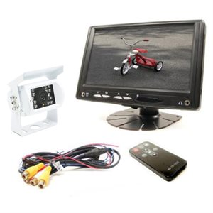 "Rostra RearSight 7"" LCD Monitor & CCD Color Camera Kit"