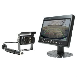 "Rostra 7"" LCD Monitor with 1 / 4"" CCD Color Camera (black)"