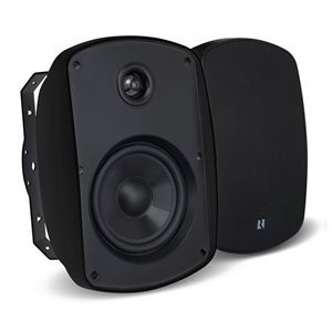 "Russound 4"" Outdoor 2-Way Loudspeakers (black, pair)"