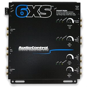 AudioControl 6 Channel Electronic Crossover (salmon grey)