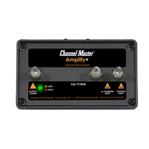 Channel Master Amplify+Adjust PreAmp w / LTE Filter&2nd Input
