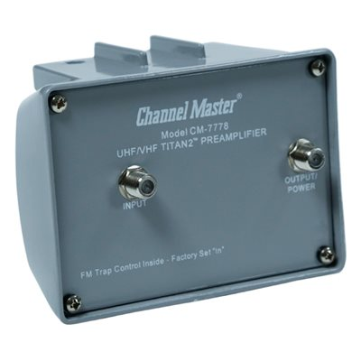 Channel Master Titan 2 Medium Gain Preamplifier