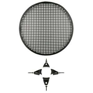 "Metra 12"" Steel Speaker Waffle Grille with Hardware (single)"