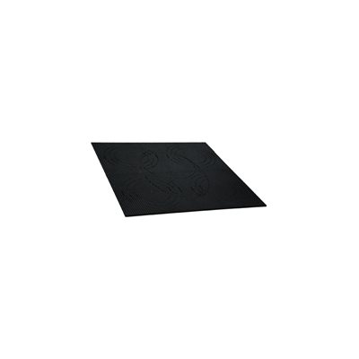 "Install Bay 12""x12"" ABS Plastic Sheet Grid Plate (single)"