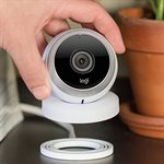Logitech Circle Portable Home Connection Camera (white)