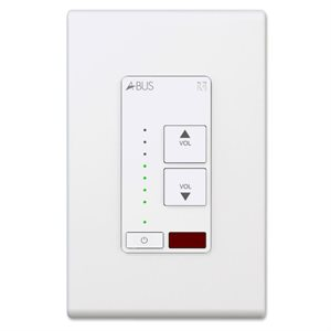 Russound A-BUS Amplified Keypad (white)