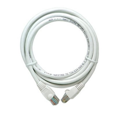 On-Q 3' Cat 5e Patch Cable (white)