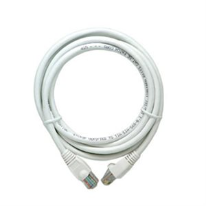 On-Q 7' Cat 5e Patch Cable (white)