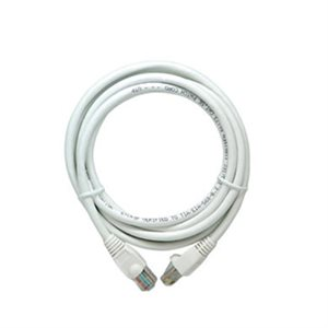 On-Q 14' Cat 5e Patch Cable (white)