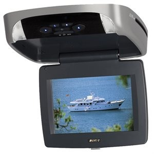 "Advent 9"" Flipdown HD Digital Monitor w / Built-In DVD Player"