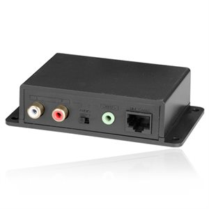ZUUM Stereo / Mini Stereo Audio Cat 5 / 6 Extender