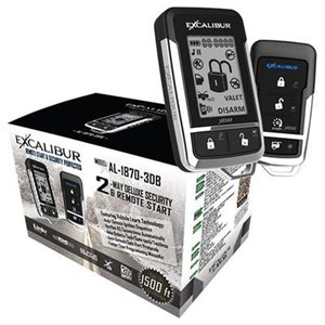 Excalibur Deluxe 2-Way Security and Remote Start System
