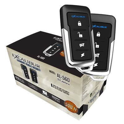 Excalibur Security / Keyless Entry with 2 Remotes