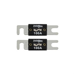 Install Bay 100 Amps ANL Fuses (2 pk)