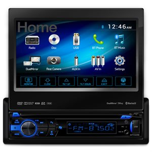 "Axxera 7"" DIN Touchscreen DVD with Bluetooth Android"