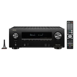 Denon 7.2CH 95W 4K Ultra HD AV Receiver w /  3D Audio & HEOS Built-in