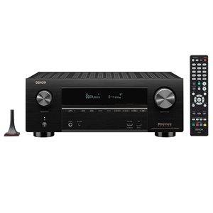 Denon 9.2CH 4K AV Receiver w /  3D Audio and Heos Built-In