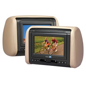 "Movies2Go 7"" Headrest LCD Monitor"