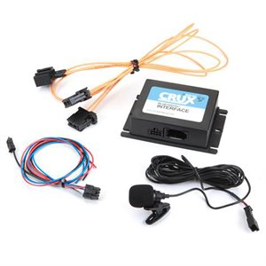 Crux Select BMW Bluetooth Kit with Fiber-Optic Systems