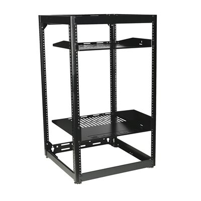 "Sanus 35"" Tall 20U Stackable Skeleton AV Rack"