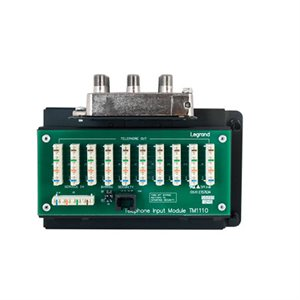 On-Q 10x8 Combo Module RJ45 Connections with RJ31X