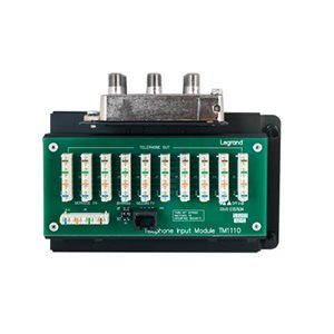 On-Q 10x8 Combo Module 110 Punchdown Connections with RJ31X