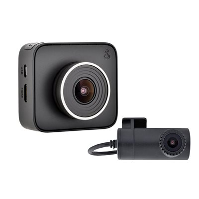 Cobra Dual View DashCam w / Smartphone Enabled iRadar Integrat