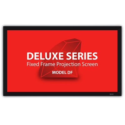 "Severtson 112"" 16:9 Deluxe Series Fixed Frame Screen (grey)"