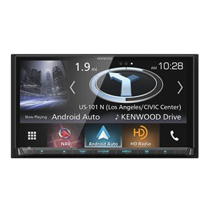 "Kenwood 6.95"" DDIN Nav / DVD Recr w / CarPlay, Android Auto"