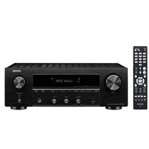 Denon AM / FM 2.1 Channel Stereo AV Receiver 100W channel