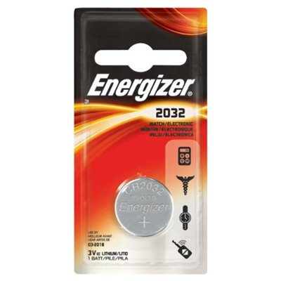 Energizer 3V Miniature Lithium Coin Battery