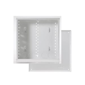 "On-Q 14"" Metal Enclosure with Screw-On Cover"