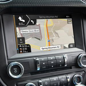 "Rosen 2015–16 Ford Mustang 8"" Navigation Headunit"