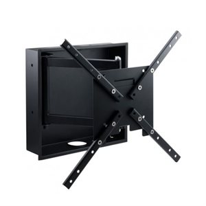 "Ethereal 32""–60"" Full-Motion Mount with In-Wall Box"