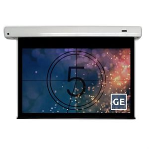 "Severtson 106"" 16:9 Cinema-Series II Motorized (matte white)"