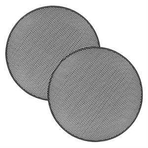 "Illusion Audio Pair of 8"" Grilles Compatible with Carbon Products"