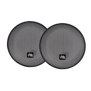 "Illusion Audio Pair of 6"" Grilles Compatible with Carbon & Luccent Products"