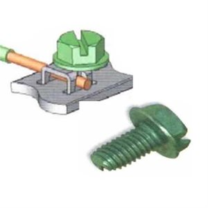 ASKA Green Ground Screws (100 pk)