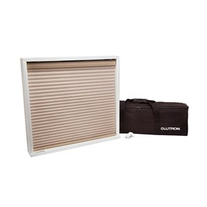 Lutron Honeycomb Shade Demo Portable, Pop-up