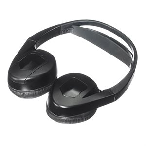 Advent IR Wireless Headset, Single Channel, with Auto Shut-Off, Fold Flat Design for Storage, Batter