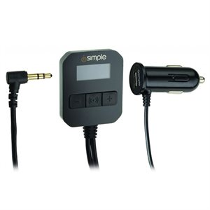 iSimple Universal 3.5mm FM Transmitter for MP3 / CD Players