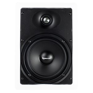 "TruAudio 2-Way 6.5"" Poly Woofer 1"" Silk Tweet Speaker (sgl)"