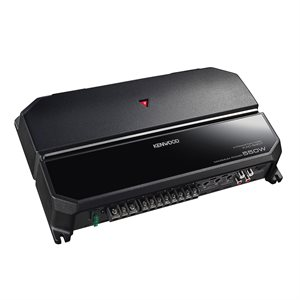 Kenwood 4 / 3 / 2 Ch Power Amp w / Variable LPF / HPF 500W Peak