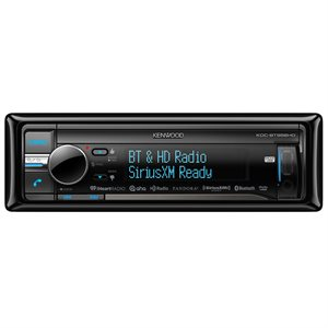 Kenwood CD Receiver with Bluetooth / HD / 3 Line Display / 2 USB