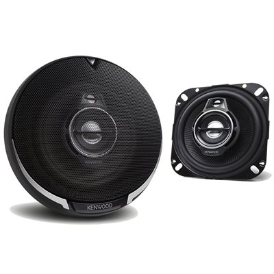 "Kenwood 4"" 3-Way Speaker System"