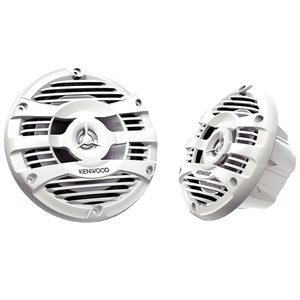 "Kenwood Marine 6.5"" 2-Way Speakers (white, pair)"