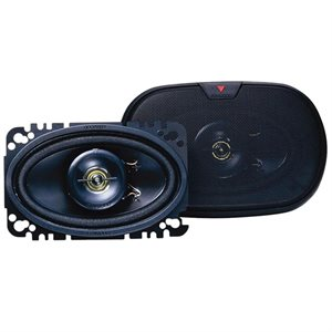 "Kenwood 4""x6"" 2-Way Speaker System (pair)"