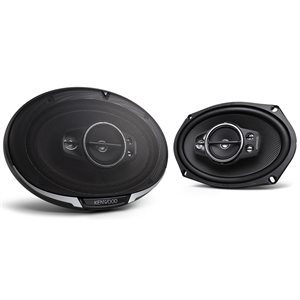 "Kenwood Performance Series 6""x9"" 5-Way Speakers (pair)"